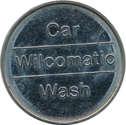 Jeton de lavage automobile - Wilcomatic – revers