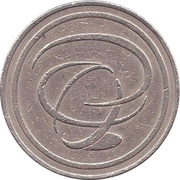 Jeton de lavage automobile - Total (logo seul) – avers