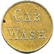 Jeton de lavage automobile - Car Wash – avers