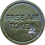 Free Air Token - Carebridge (Redruth, Cornwall) – revers
