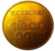 Jeton de lavage automobile - Kärcher Clean Park (Pitsea, Essex) – revers