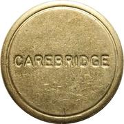 Jeton de lavage automobile - Carebridge – avers