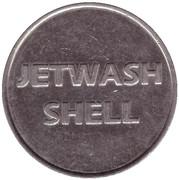 Jeton de lavage automobile - Jetwash Shell – avers
