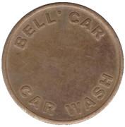Jeton de lavage automobile - Bell' Car (Whiteley) – avers