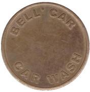 Jeton de lavage automobile - Bell' Car (Whiteley) – revers