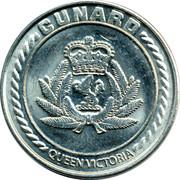 Cunard Queen Victoria Casino Token – avers