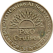 Casino Token (P & O Cruises) – avers