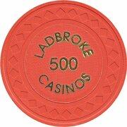 Jeton de casino - Ladbroke Casinos (500) – avers