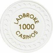 Jeton de casino - Ladbroke Casinos (1000) – revers