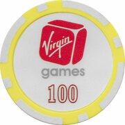 Poker Chip - Virgin Games (100) – revers
