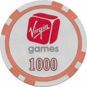 Poker Chip - Virgin Games (1000) – revers