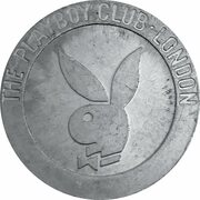 Jeton - The Playboy Club, London (The Queen's Silver Jubilee) – avers