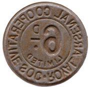 6 Pence(Royal Arsenal Cooperative Soc Limited) -  avers
