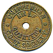 Token - Chippenham CS Half Quartern -  avers