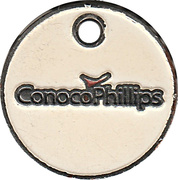 Jeton de chariot - ConocoPhillips (Health Challenge) – avers
