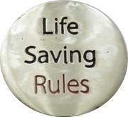 Jeton de chariot - ConocoPhillips (Life Saving Rules - Excavation) – revers