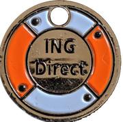 Jeton de chariot - ING Direct – avers