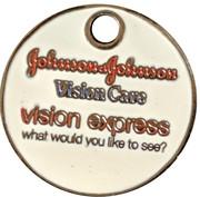 Jeton de chariot - Vision Express – revers