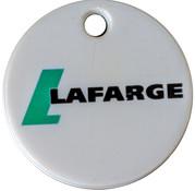 Jeton de chariot - Lafarge Mountsorrel Quarry 2012 – avers