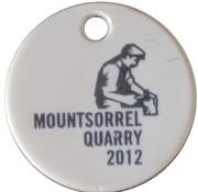 Jeton de chariot - Lafarge Mountsorrel Quarry 2012 – revers