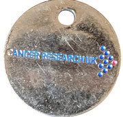 Jeton de chariot - Cancer Research UK – avers