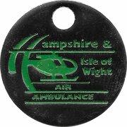 Jeton de chariot - Air Ambulance (Hampshire & Isle of Wight) – avers