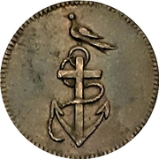 Token - Preliminaries of the Peace of Amiens – revers