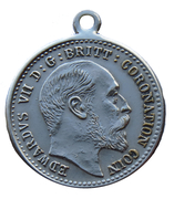 Medallion - Edward VII Coronation Coin – avers