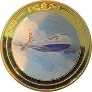 Token - 100 Years of Flight (Boing 747 'Jumbo Jet') -  avers