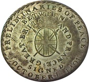 Token - 1801 Preliminaries of the Peace of Amiens – avers