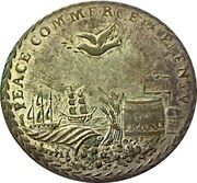 Token - 1801 Preliminaries of the Peace of Amiens – revers