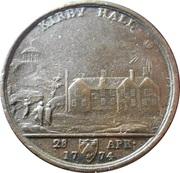 Medallion - Kirby Hall Lawfull Wedlock – avers