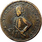 Admiral Vernon Portobello medal – avers