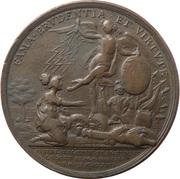 Medal - Seven Years War Battle of Prague  – revers