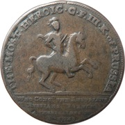 Medallion - Frederick the Great  – avers