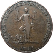 Medallion - Frederick the Great  – revers