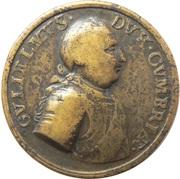 Medallion - Duke of Cumberland – avers