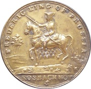 Medal - Frederick King of Prussia (Defender of the Protestants) – avers