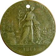 Paix de Paris 1814 Allégorie – avers