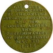 Paix de Paris 1814 Allégorie – revers