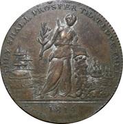 Medal - Treaty of Paris 1814 (Allegory) – avers