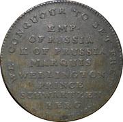 Medal - Treaty of Paris 1814 (Allegory) – revers