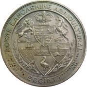 Medal - Royal Lancashire Agricultural Society – avers