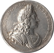Official Coronation Medal Of George I – avers
