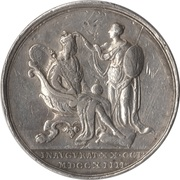 Official Coronation Medal Of George I – revers