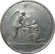 Medal - Preliminaries for the Peace of Amiens – avers