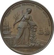 Médaille - Preliminaries for the Peace of Amiens – revers