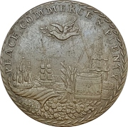 Medal - Preliminaries of the Peace of Amiens – revers
