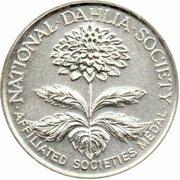 Medal - National Dahlia Society (Silver) – avers