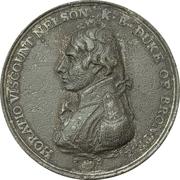 Medal - Admiral Nelson, Boulton's Trafalgar Medal – avers